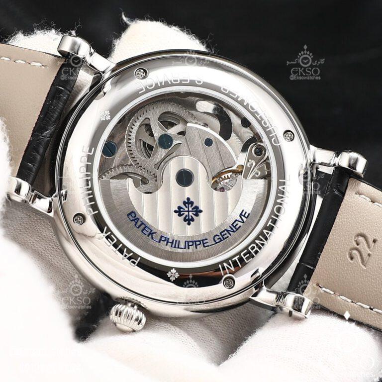 ساعت مچی مردانه پتک فیلیپ اسکلتون مدل 1161 PATEK PHILIPPE